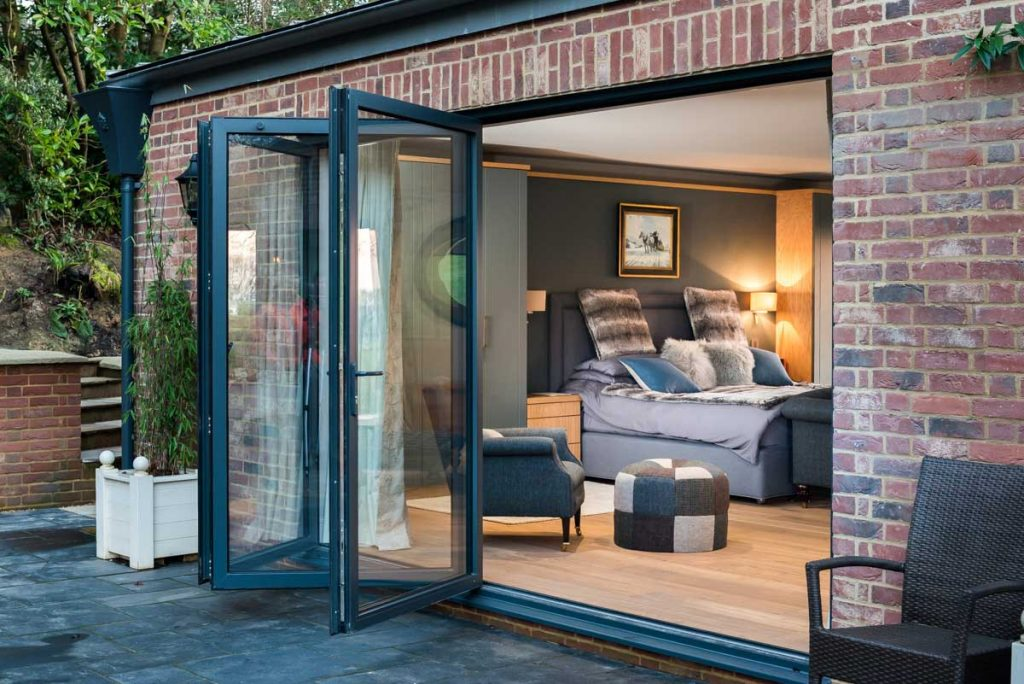 aluminium bi-fold doors cost calculator park gate