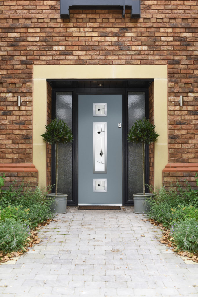 hampshire grey composite doors
