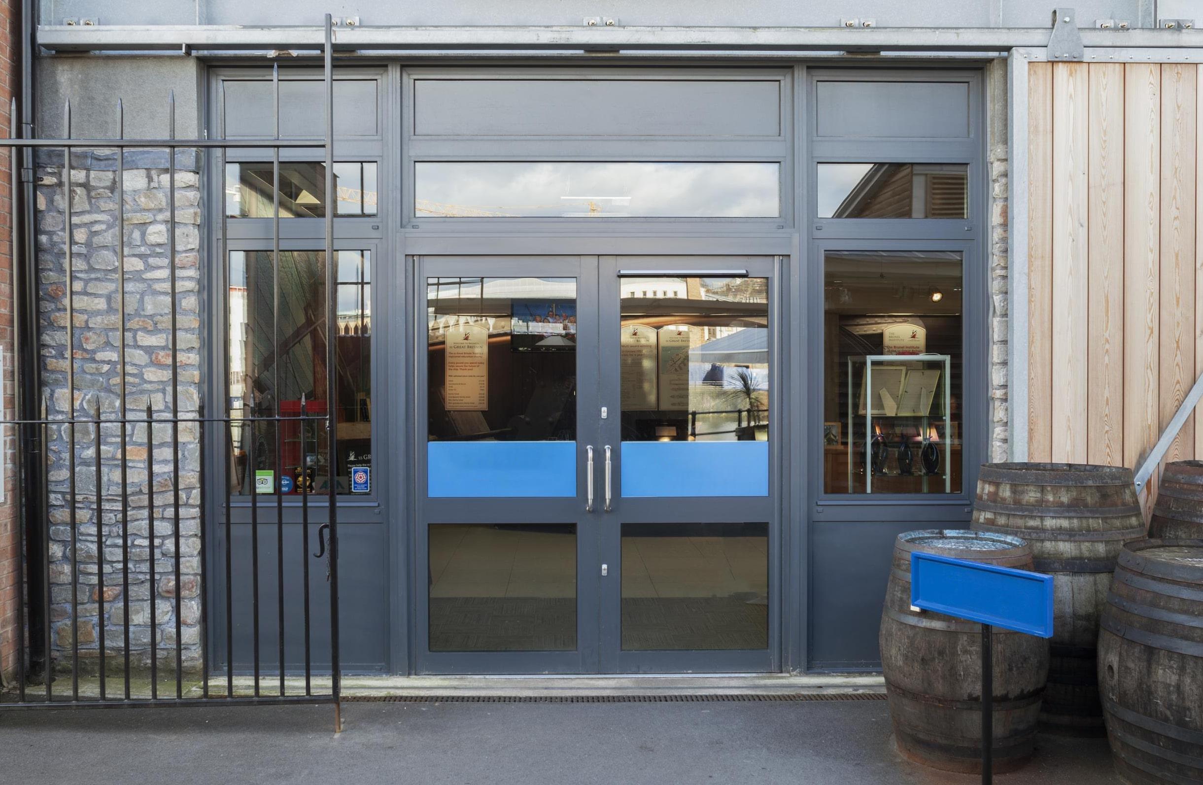 commercial aluminium doors price park gate