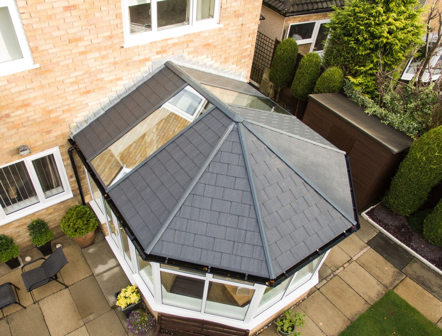 replacement warm conservatory roofs park gate