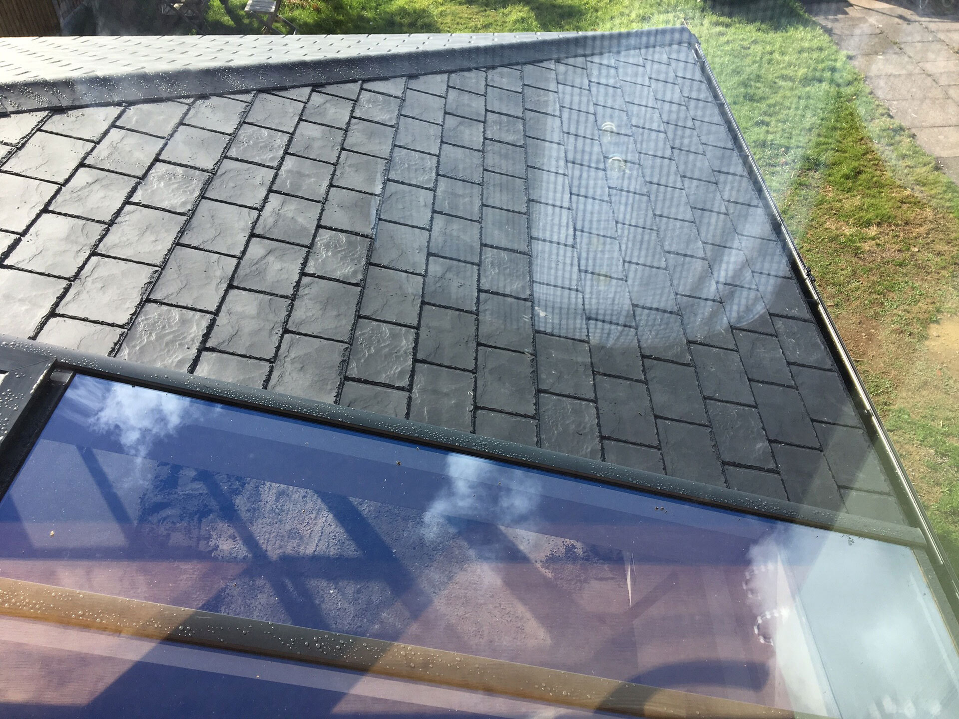 warm conservatory roof cost park gate