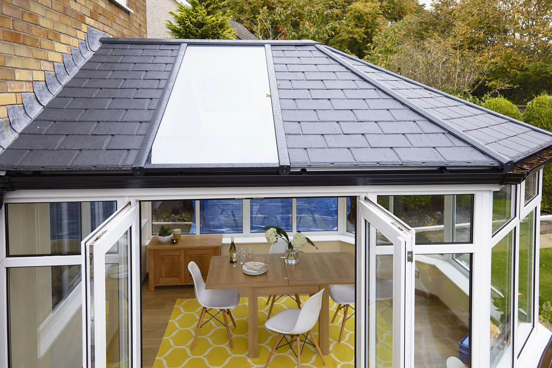 warm conservatory roof costs park gate